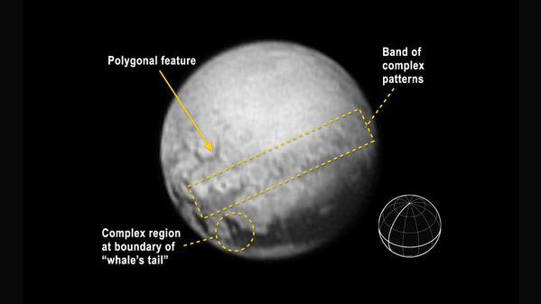 Tenemos geología de Plutón