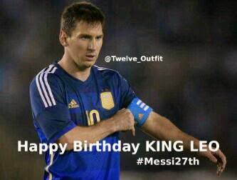 Ulang Tahun Lionel Messi
