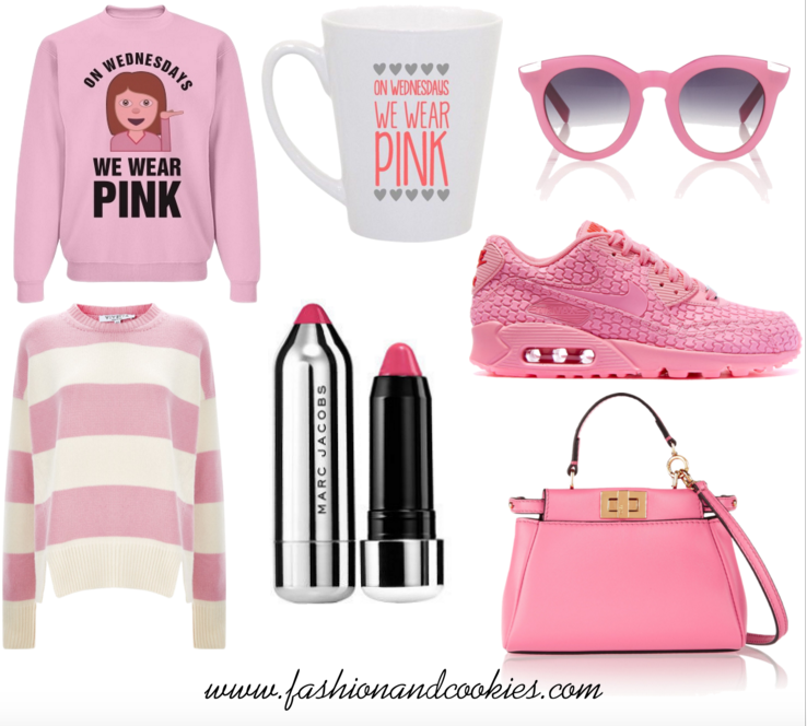 On Wednesday we wear Pink, pink wishlist on Fashion and Cookies fashion blog, fashion and beauty blogger