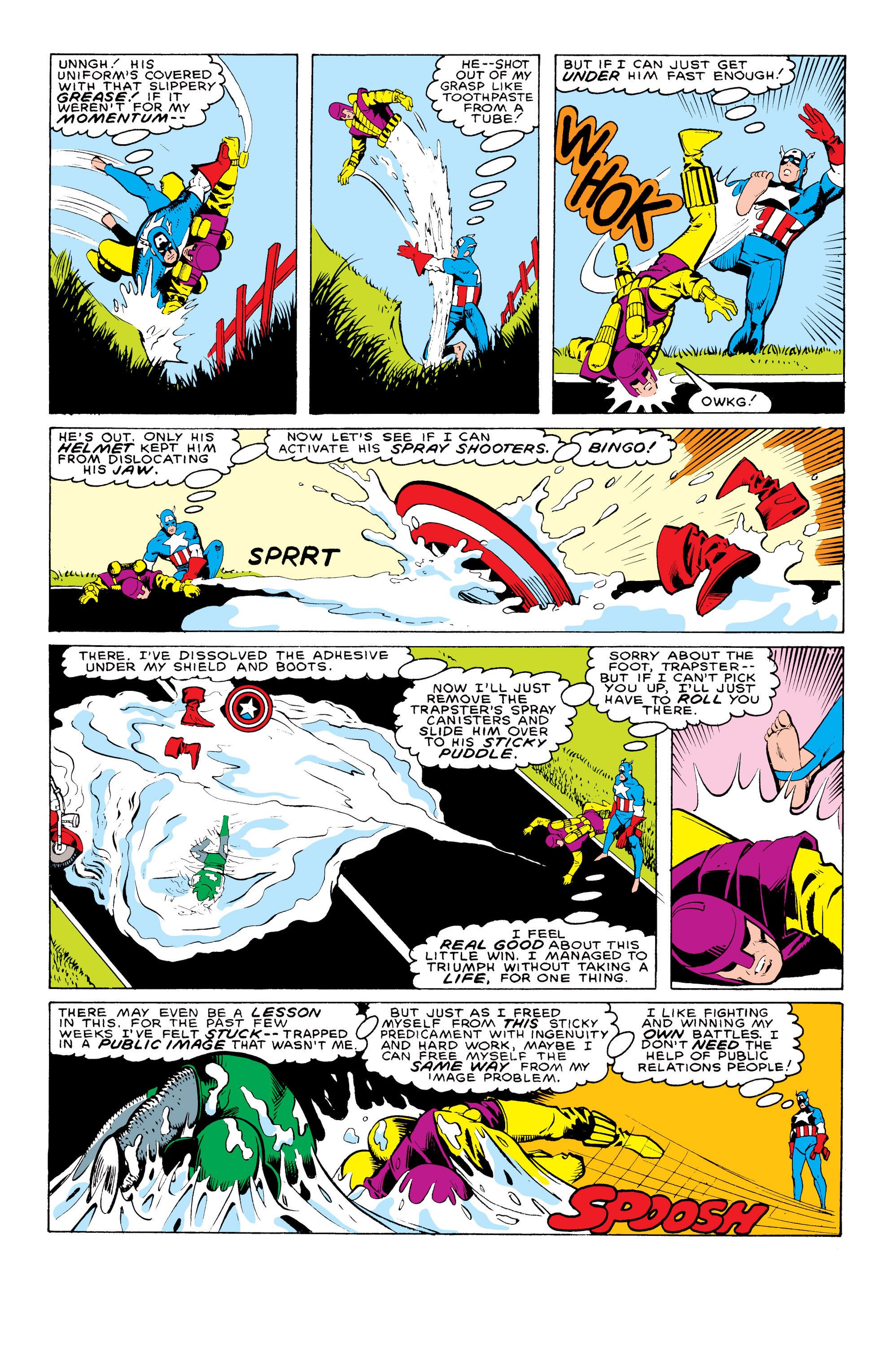 Captain America (1968) Issue #324 #253 - English 21