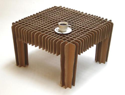 Cajas en cart n de dise o muebles de cart n - Muebles de carton ...