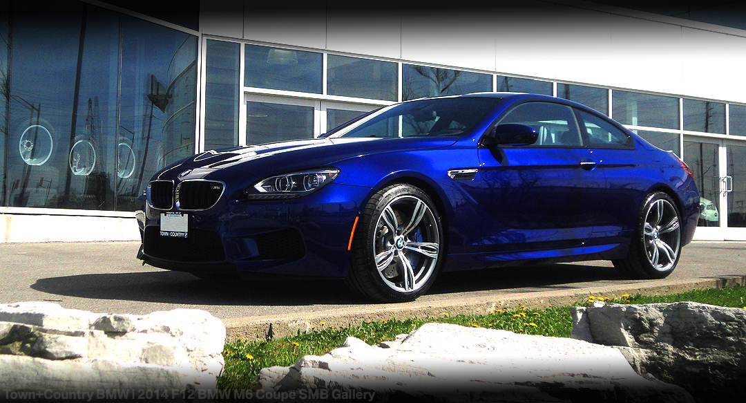 San Marino Blue 2014 Bmw M6 Coupe Town Country Bmw