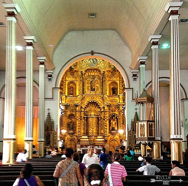 Golden Alter, Iglesia San Jose, Casco Viejo, Panama City