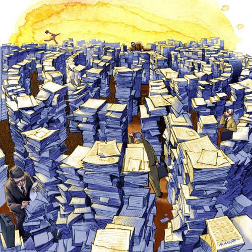 Resultado de imagen para estado burocracia organizada