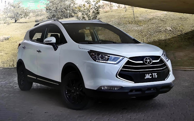 JAC T5 - concorrente do Honda HR-V