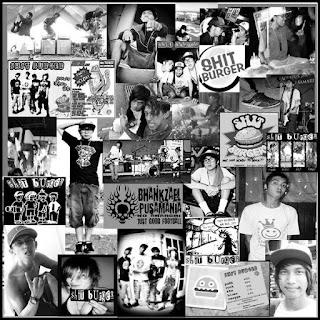 Shit Burger Band Punk Rock Samarinda Kalimantan