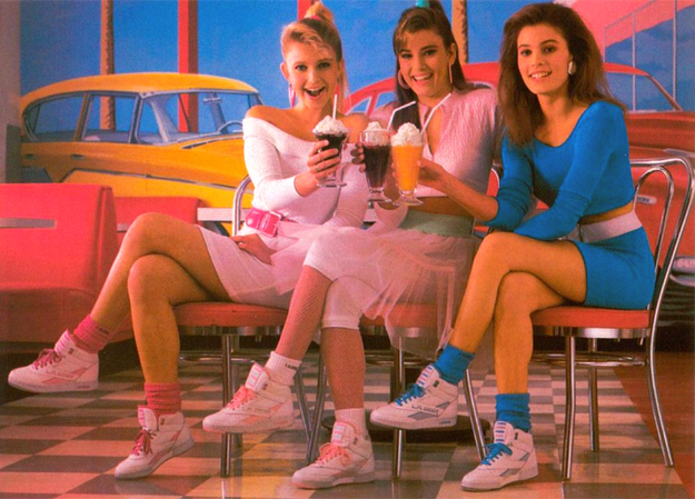 photo of girls 80's style № 1276