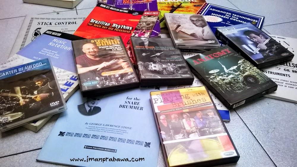 Belajar Drum Dari Buku Dan DVD