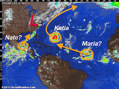 Diskussion KATIA, MARIA und NATE, Katia, Maria, Nate, Atlantik, Golf von Mexiko, USA, US-Ostküste Eastcoast, Tornado,