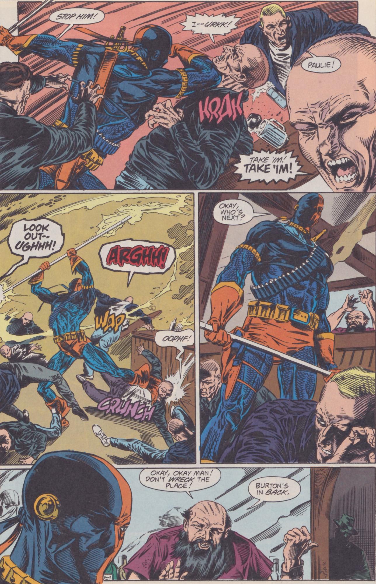 Deathstroke (1991) Issue #22 #27 - English 9