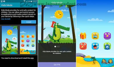 Fitur Kids Mode pada Smartphone Samsung Galaxy