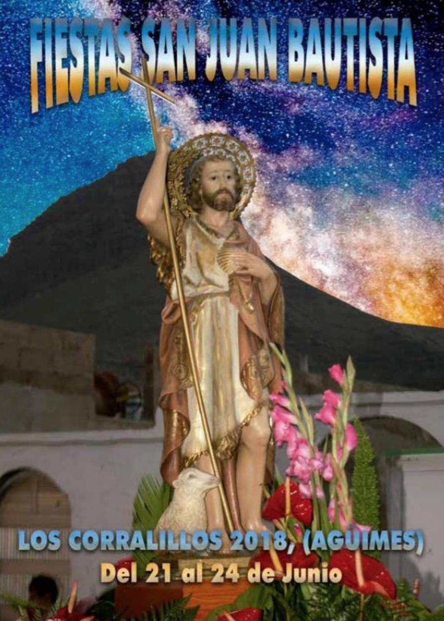 Fiesta en honor a San Juan Bautista en Los Corralillos