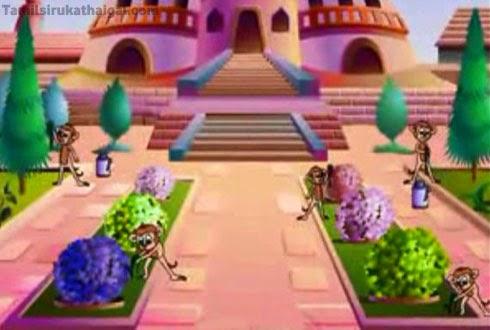 The Gardener and the Monkeys 3