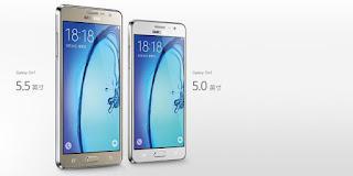 سامسونغ تكشف عن هاتفيها الجديدين On5 و On7