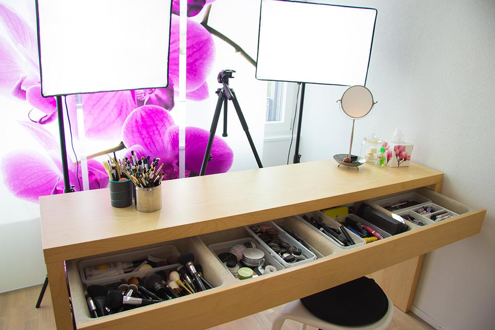 julia graf my new studio make up room