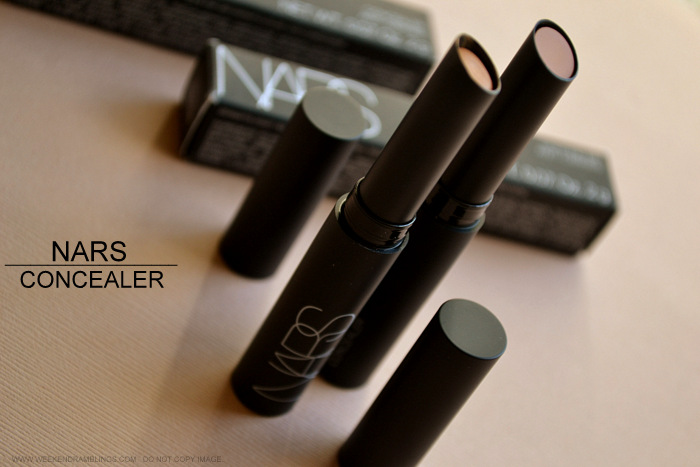 Nars Concealers Stick - Caramel Biscuit - Photos Swatches Review FOTD