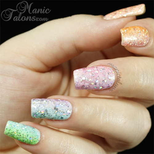Bundle Monster Gel Polish Woodland Fantasy Collection Gradient