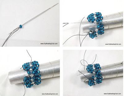 Right Angle Weave Beading