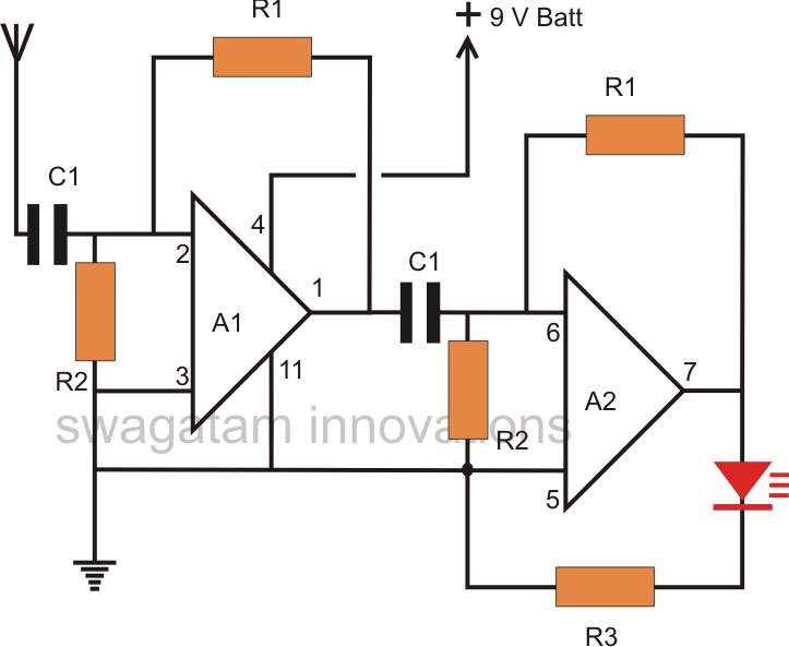 Phase Detector Circuit Diagram Blueraritanfo