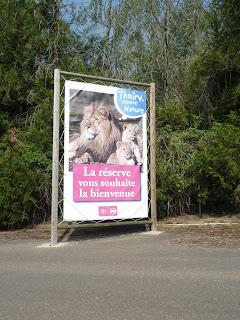 Visite au zoo de Thoiry dans Activité partagée