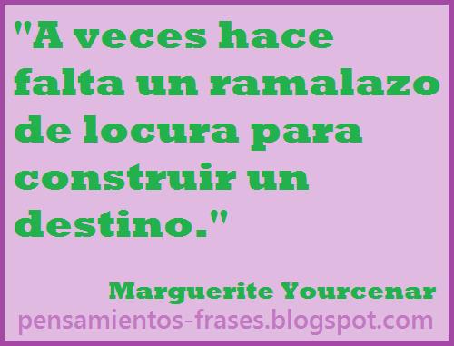 frases de Marguerite Yourcenar