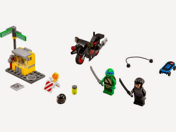 TOYS - LEGO Tortugas Ninja - 79118 Huida en la Moto de Karai  Juguete Oficial | Teenage Mutant Ninja Turtles | A partir de 5 años