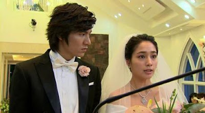 Lee Min Jung And The Wedding Dress
