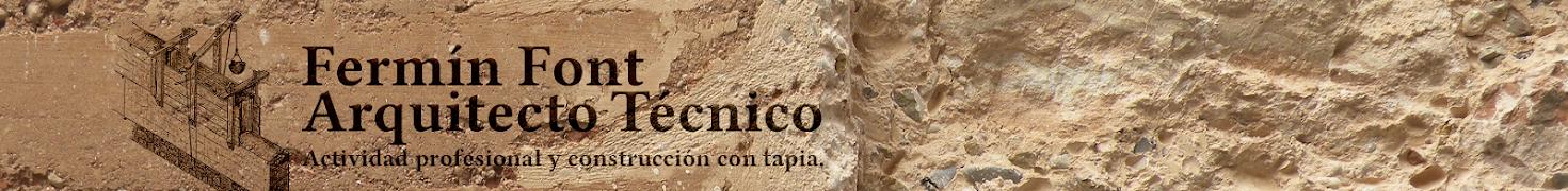 Fermín Font. Arquitecto Técnico