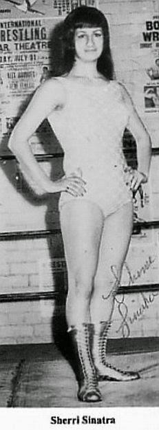 Sherri (Sherrie) Sinatra - Female Wrestling