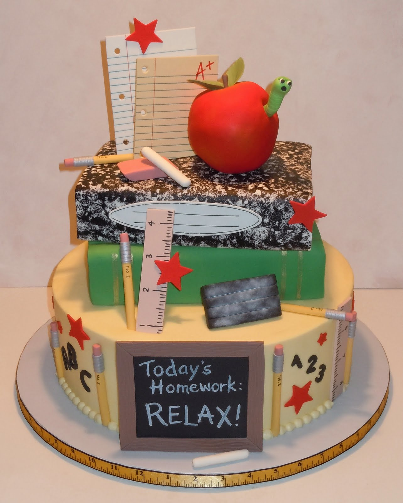 Cake Images For Teacher : 35 Back to School Treats - Something Swanky
