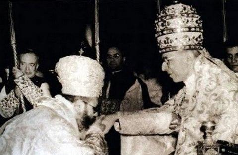 Sumo Pontifice de Roma y Patriarca Melquita de Oriente