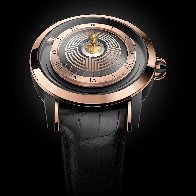 Christophe Claret Aventicum Mechanical Automatic Watch Gold