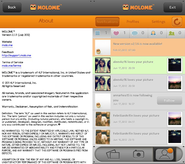 Molome For Symbian s60v5 Symbian ^3 Now Available