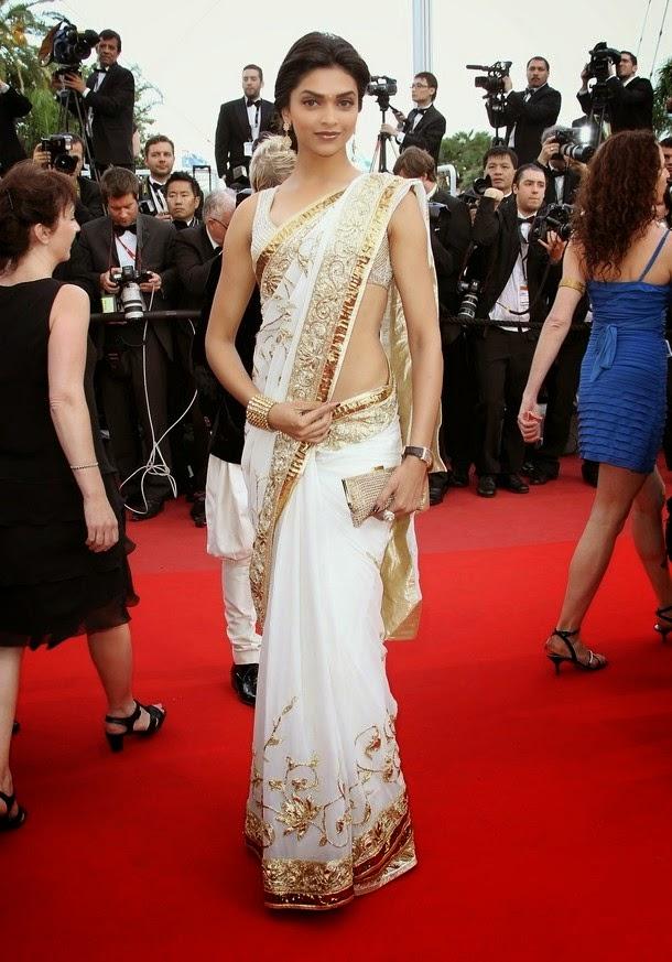 Deepika Padukone Looking Gorgeous in Saree