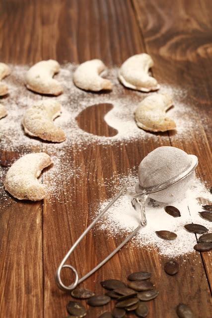 Noel , Autrichien , gâteaux , graines de courge , sablés