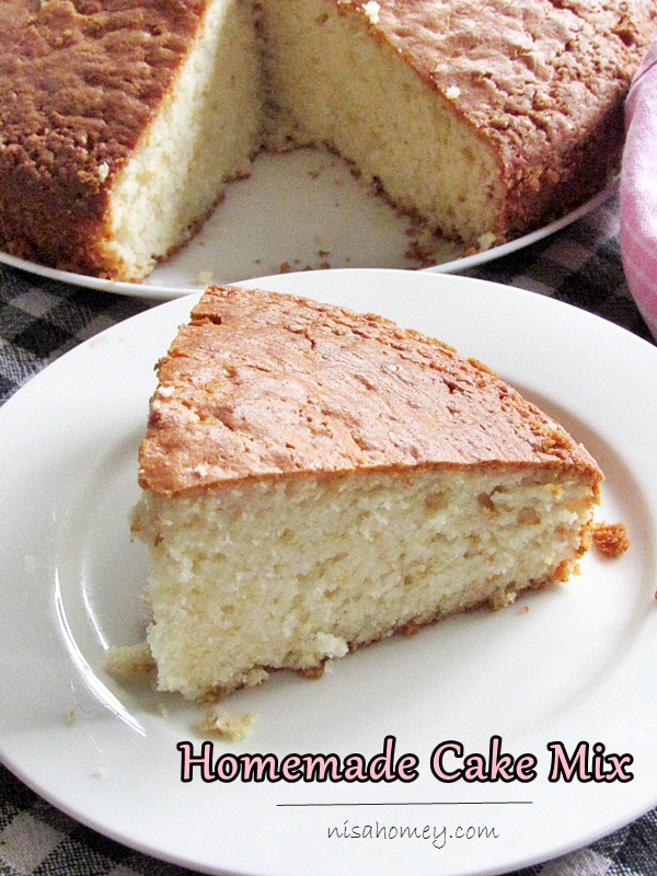 Images For Homemade Cake : Homemade Yellow Cake Mix Recipe Cooking Is Easy