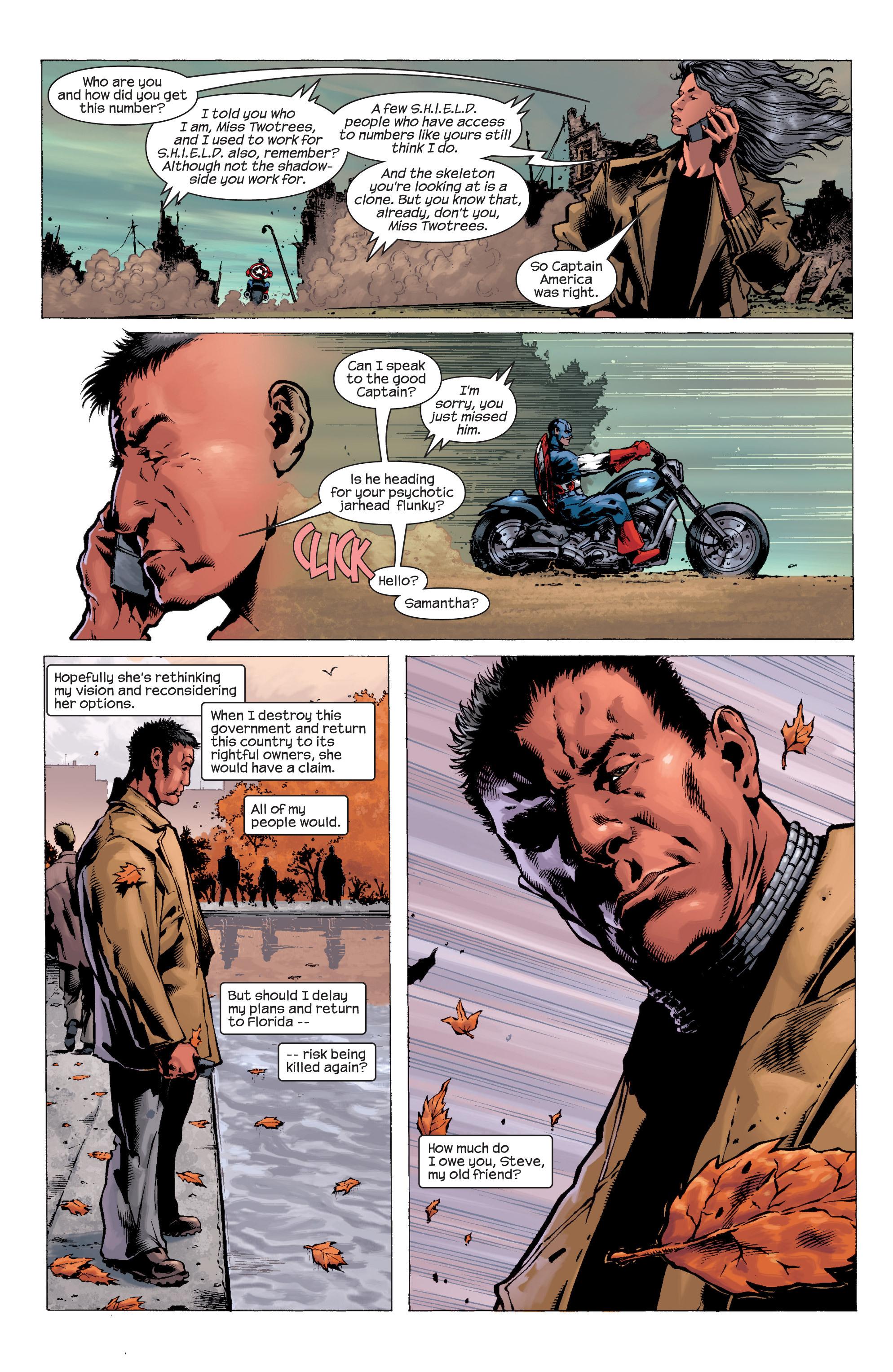 Captain America (2002) Issue #8 #9 - English 5