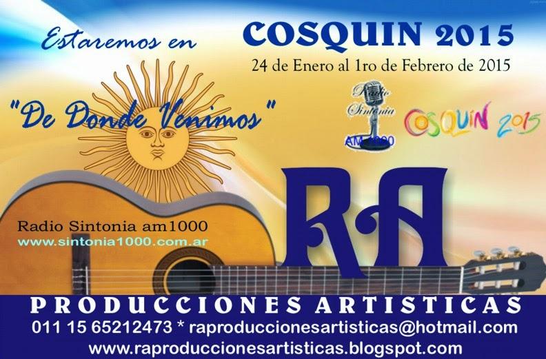 RA en Cosquin 2015!!