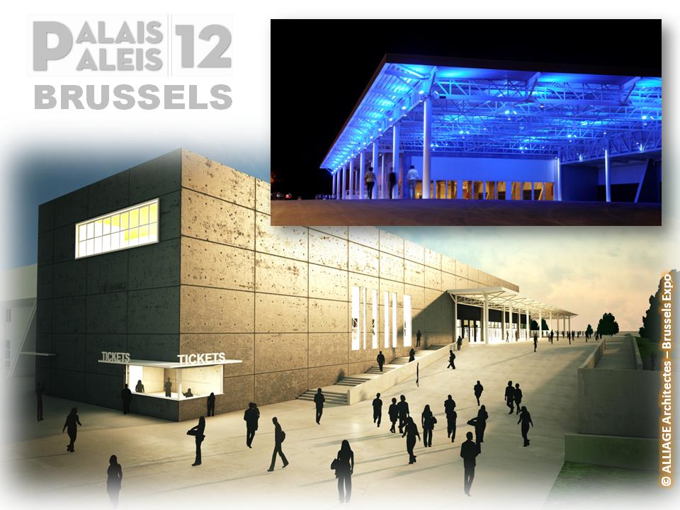 PALAIS 12 - BRUSSELS - Salle de concerts, spectacles et événements modulable de 3.000 à 15.000 places sous différentes configurations - Bruxelles-Bruxellons