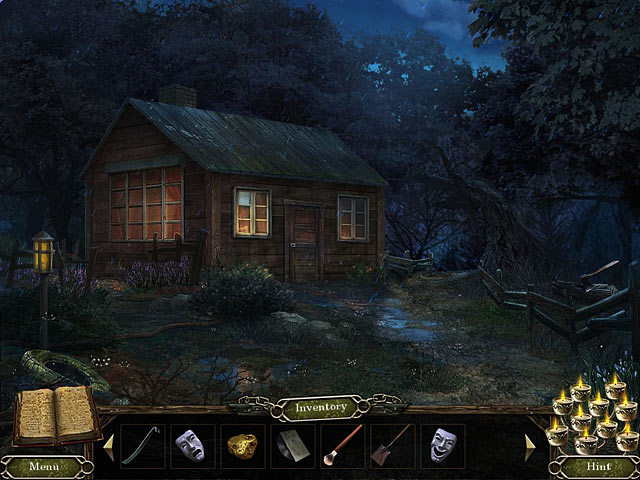 Cursed Memories: The Secret of Agony Creek Collector's Edition - Starting Dirty Little Cabin