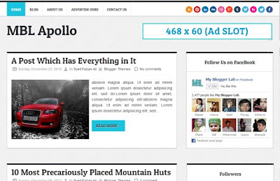 MBT Apollo Blogger Template