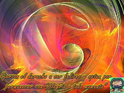 Es fundamental que encuentren Alegría en todo momento y en todo lo que hacen.