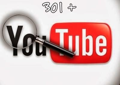 301  visitas en Youtube