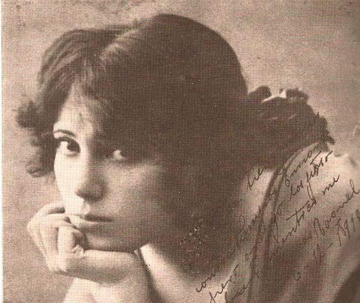 Raquel Meller Tarazona Turiasonense ilustre cupletista