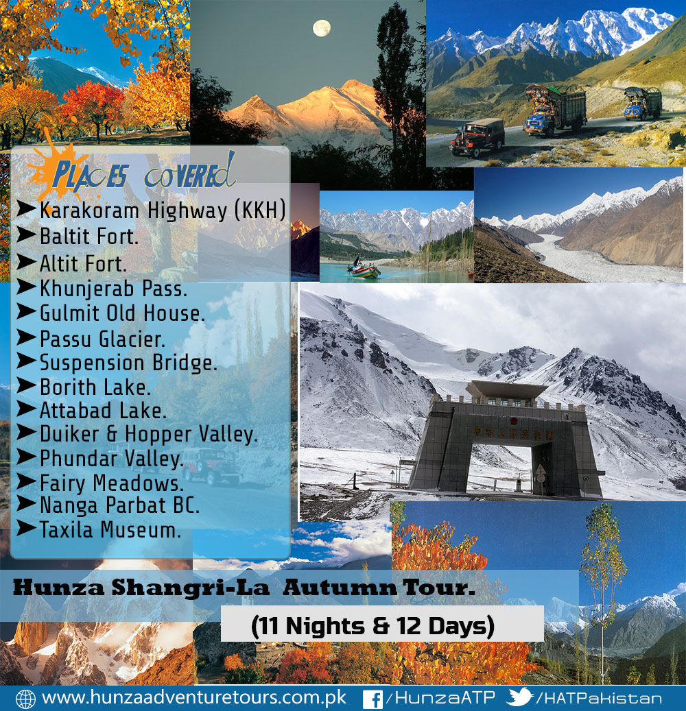 Ancient Silk Route & Hunza Shangri-La Autumn Tour 2017