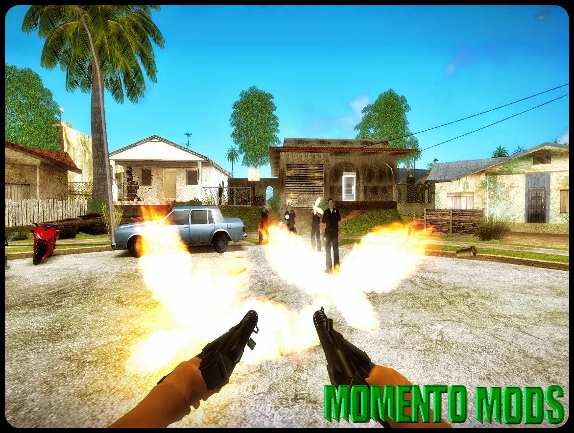 GTA SA - First Person Mod V3 (Primeira Pessoa)