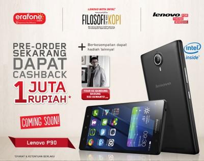Inilah Harga Lenovo P90 di Indonesia