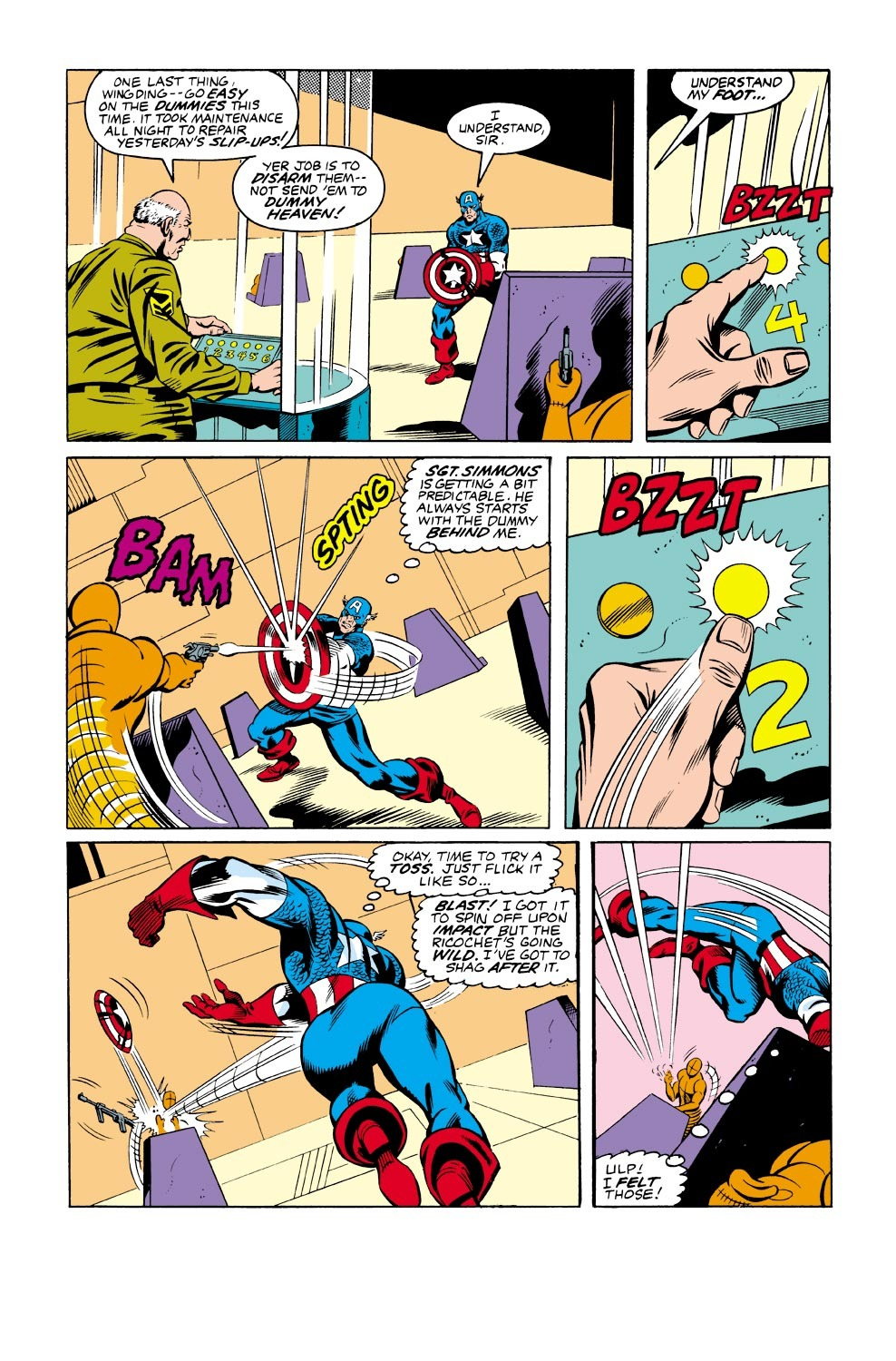 Captain America (1968) Issue #334 #263 - English 6