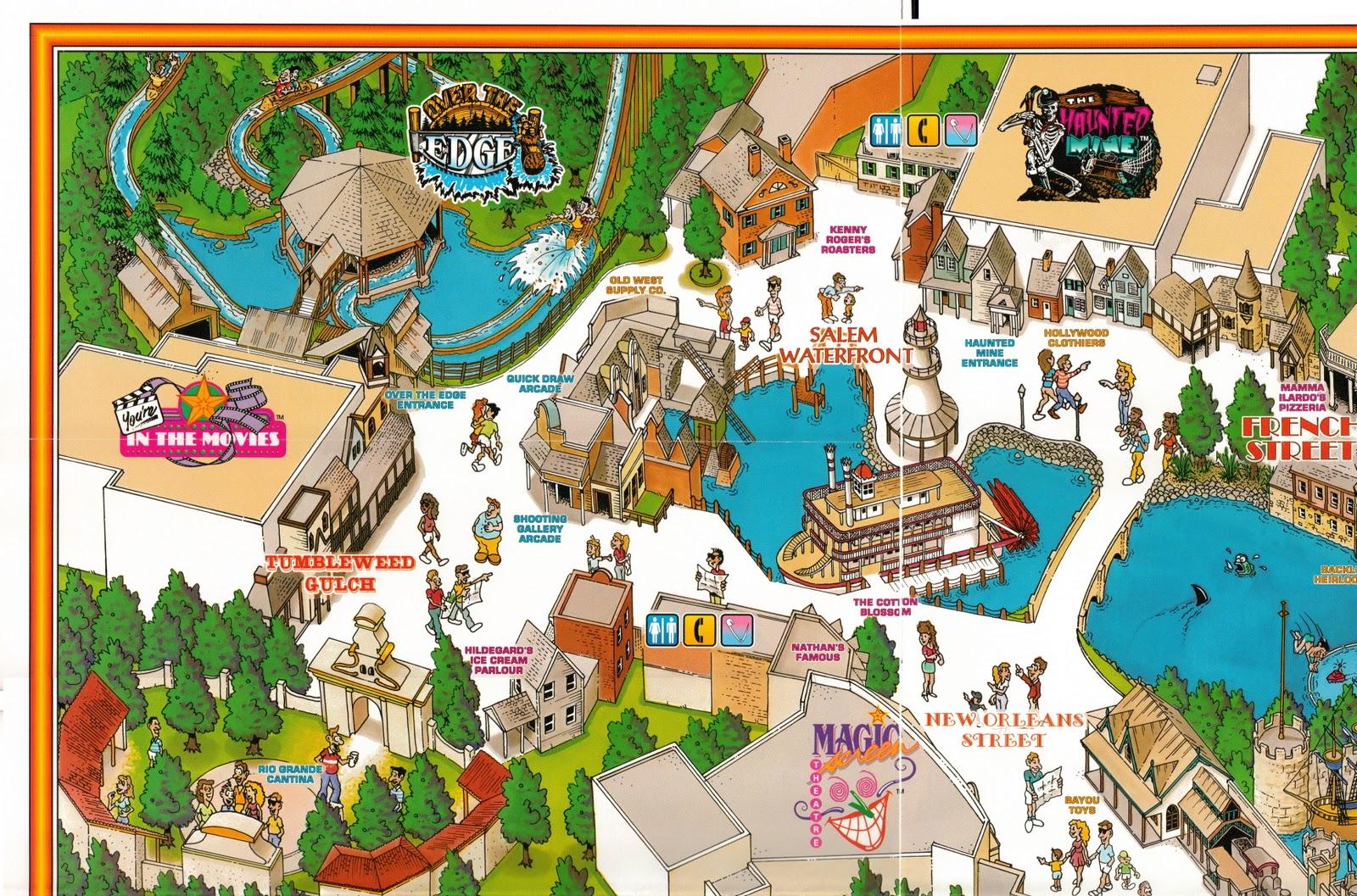 mgm grand adventures souvenir map. newsplusnotes  mgm grand adventures souvenir map