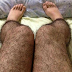 Hairy Stocking: Anti Pervert Stockings